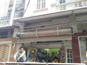 Sửa cửa cuốn chuyên về đêm 24/24h tại Hà Nội